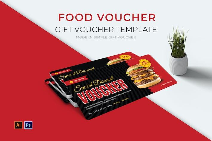 Geschenkgutschein für Lebensmittel