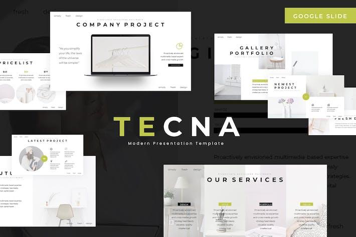 Thumbnail for Tecna - Google Slides Template
