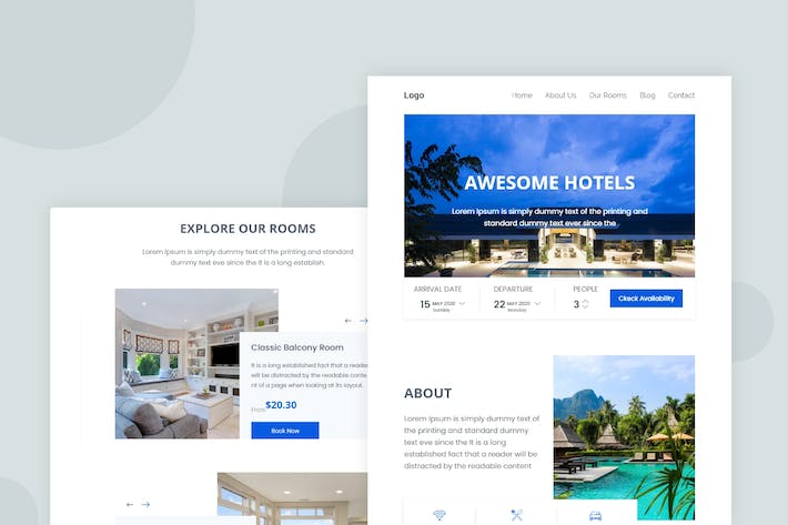Thumbnail for Hotel - Email Newsletter