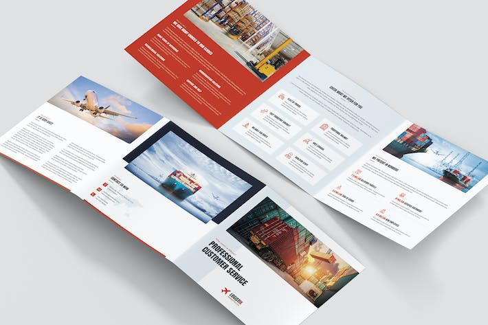 Thumbnail for Brochure – Transport Logistic Tri-Fold Square