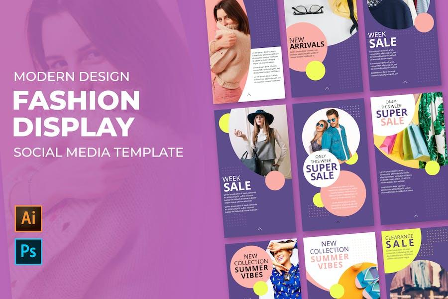 Fashion Product Social Media Posts