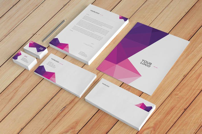 Thumbnail for Clean Pink Pattern Stationery