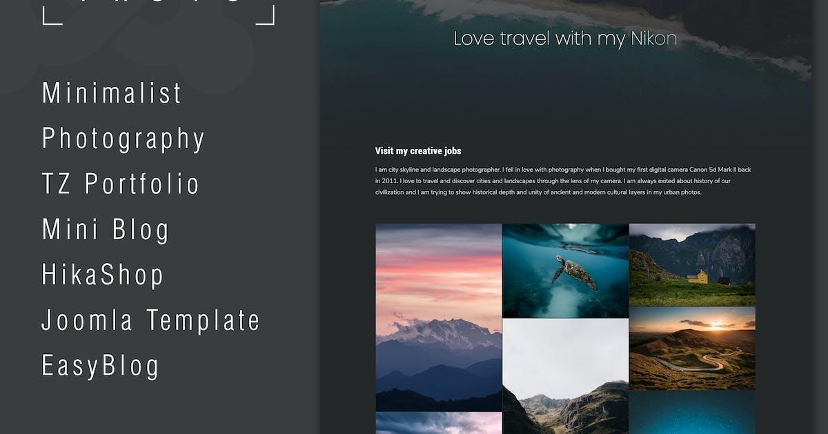 Download Dino - Creative Portfolio Joomla Template by templaza