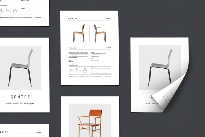 Thumbnail for CENTRE - Furniture Flyer