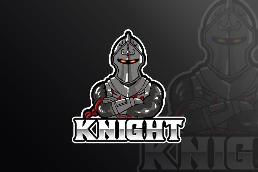 Knight Mascot & eSports Gaming Logo