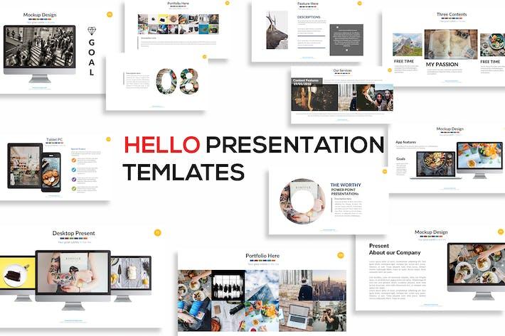 Thumbnail for Hello Keynote Presentation
