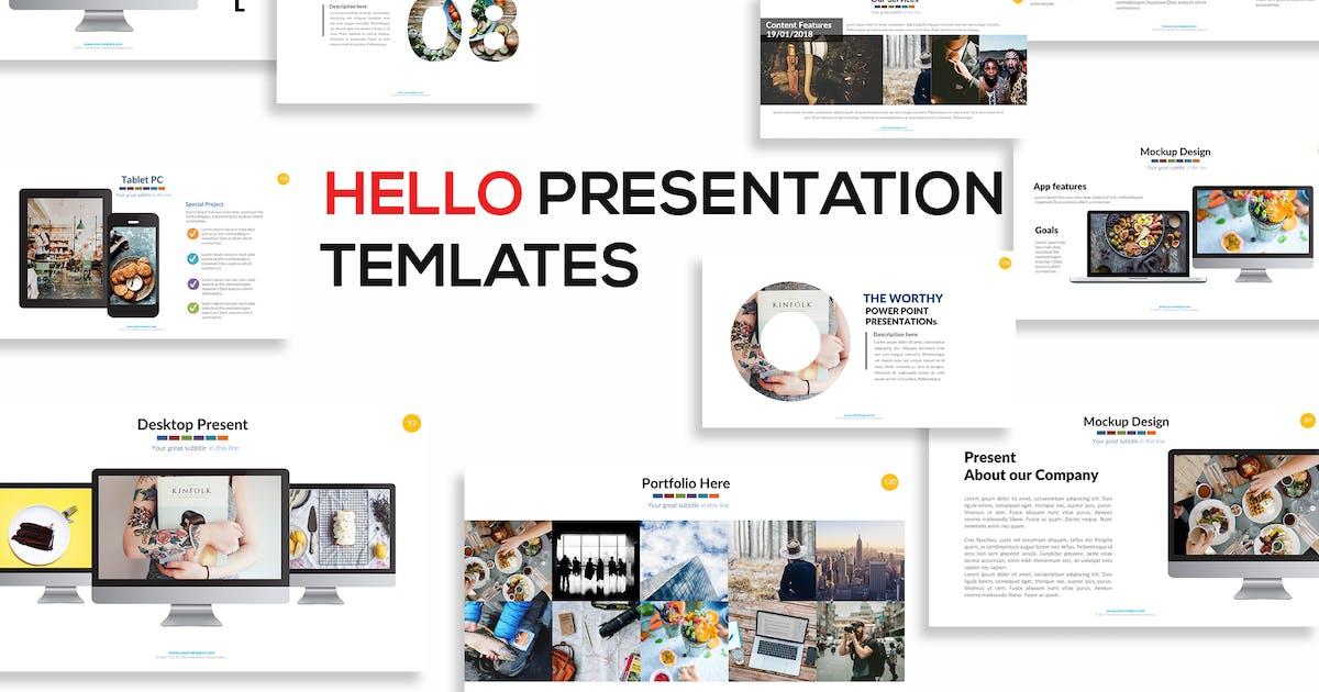 Download Hello Keynote Presentation by mamanamsai