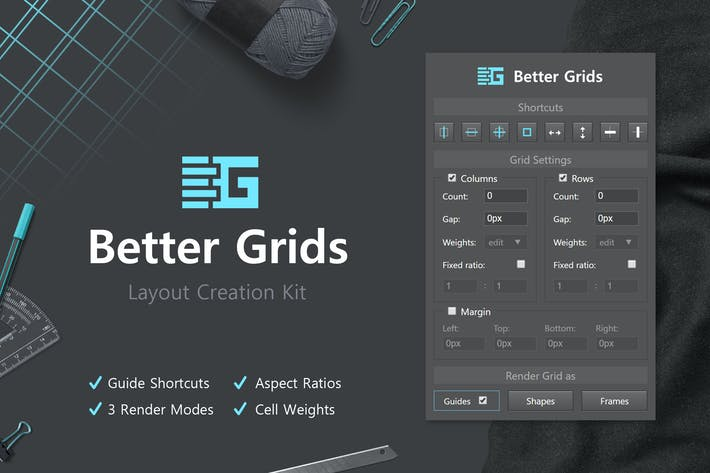 Thumbnail for Better Grids - Layout Creation Kit