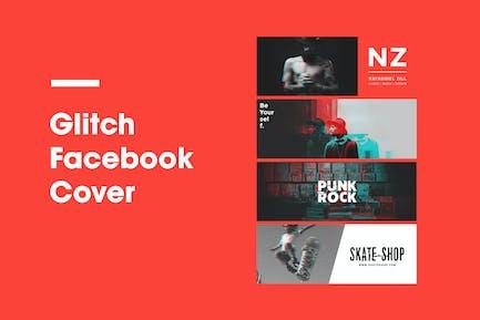 Glitch Facebook Cover