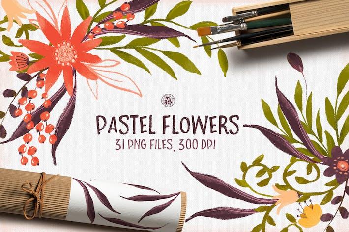 Thumbnail for Pastel Flowers