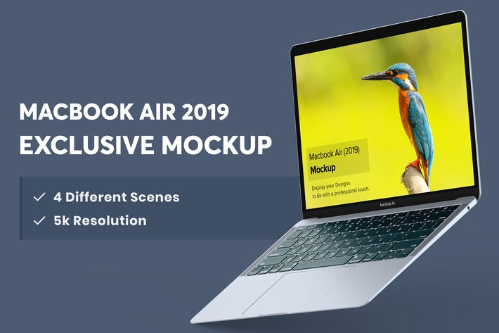 Thumbnail for Macbook Air Mockup