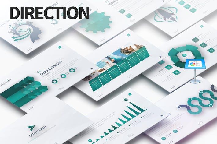 Thumbnail for DIRECTION - Multipurpose Keynote Presentation