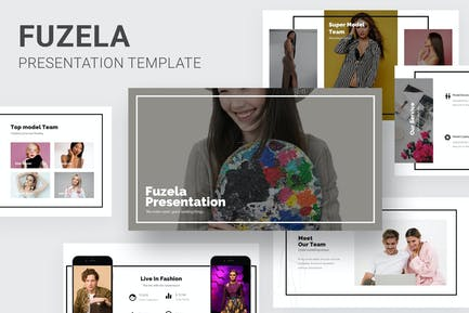 Fuzela - Model Agency Keynote