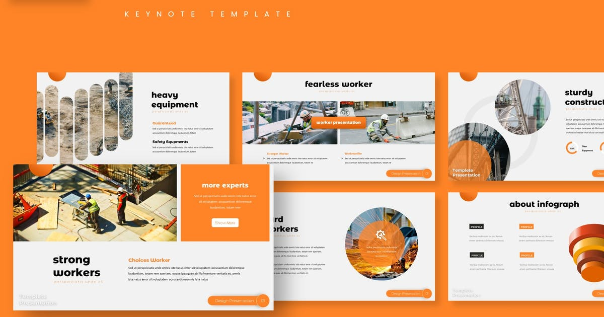 Download Constr - Keynote Template by aqrstudio