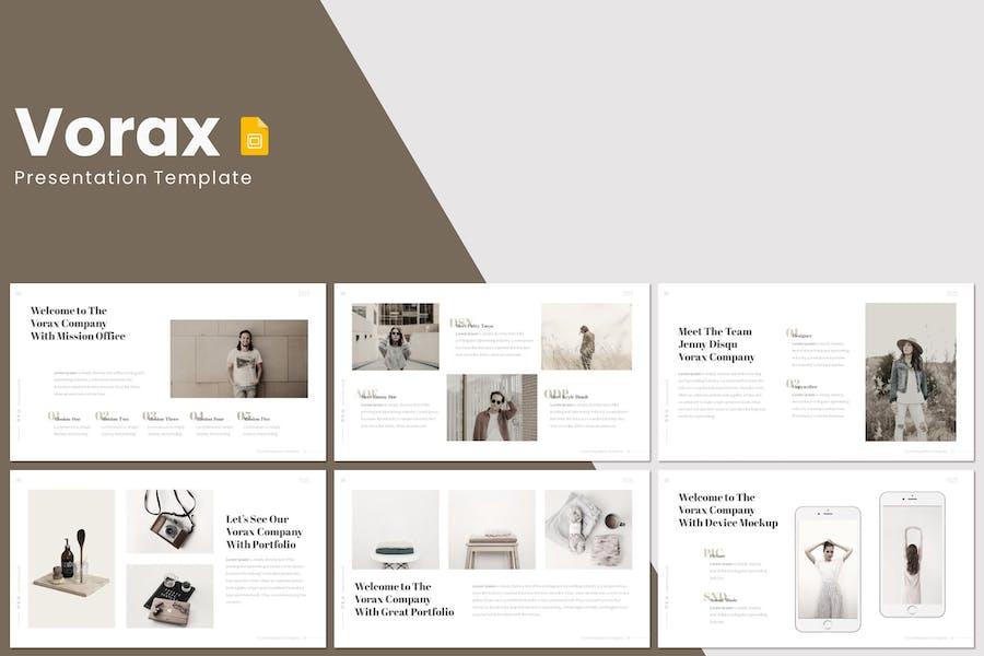 Vorax - Google Slides Template