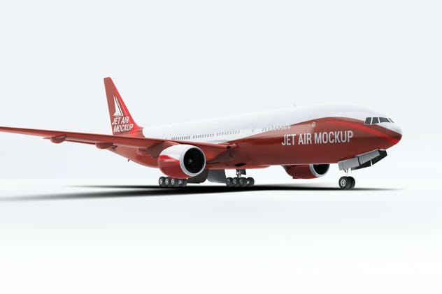 Jet Airplane Mock-Up