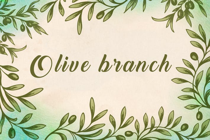 Thumbnail for Vintage Olive Branch