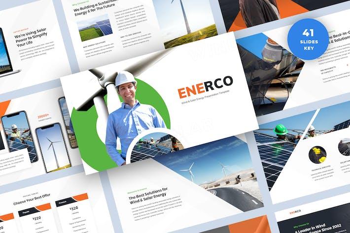 Thumbnail for Шаблон Keynote презентации по возобновляемым источникам энергии