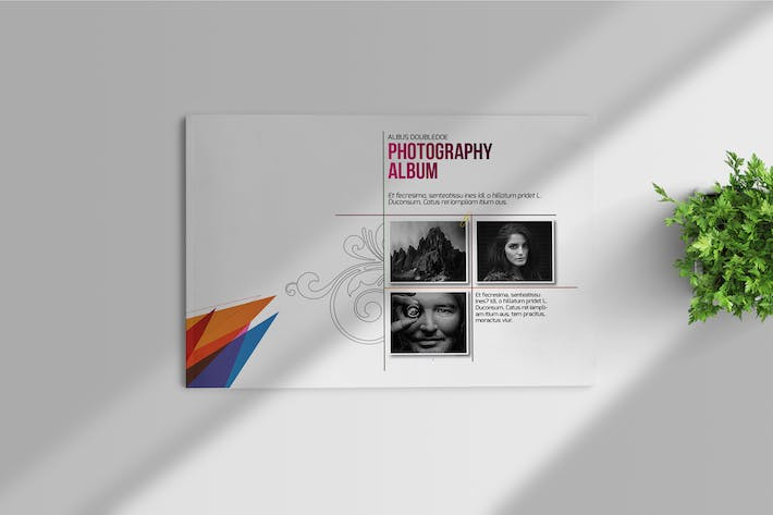 Thumbnail for Photography Album Template