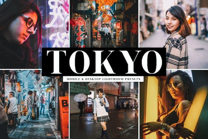 Thumbnail for Tokyo Mobile & Desktop Lightroom Presets