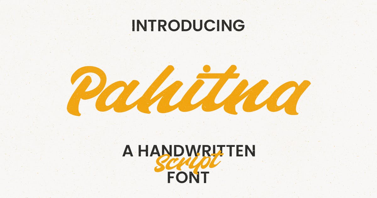 Download Pahitna Handwritten Script Font by maulanacreative