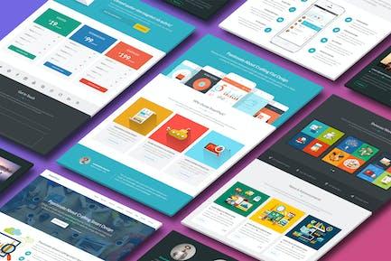 SmartPack - HTML-Vorlage mit Page Builder