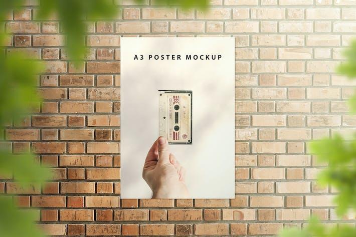 Thumbnail for A3 Poster Mockup - Set 1