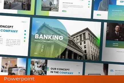 Banking Presentation Template