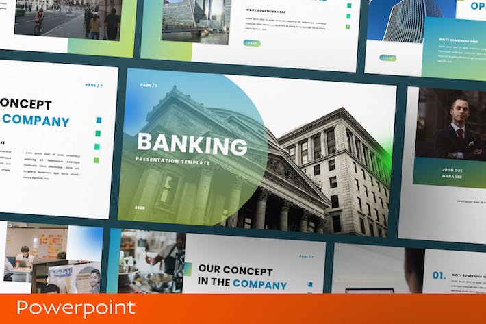 Thumbnail for Banking Presentation Template