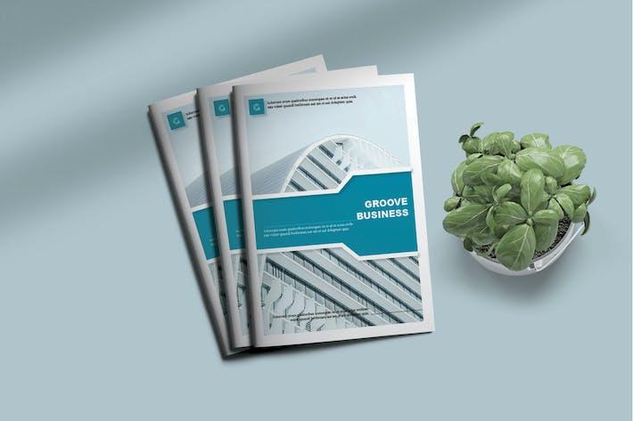 Thumbnail for GROOVE - Brochure BiFold Modèle d'affaires