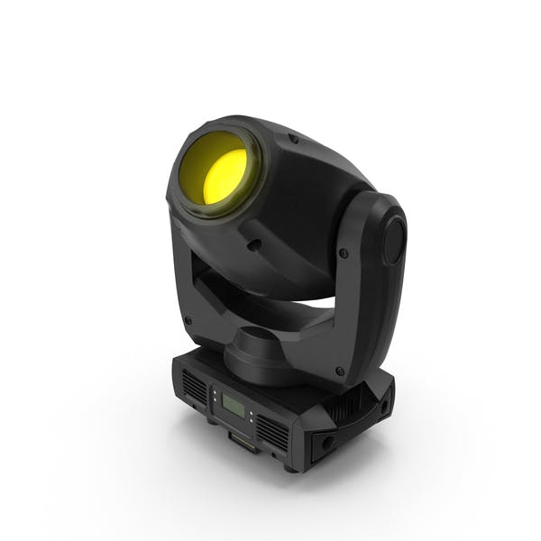 Yellow Spot Stage Light
