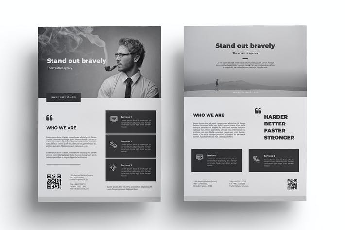 Cover Image For Minimal Business Flyer
