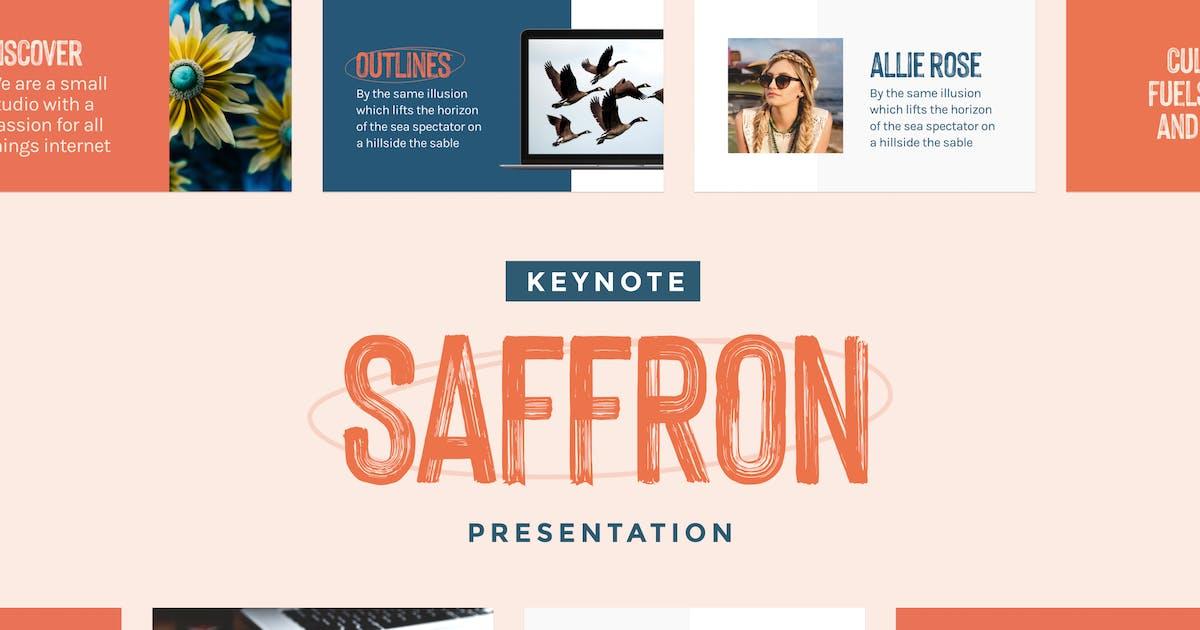 Download Saffron — Keynote Presentation Template by furnace