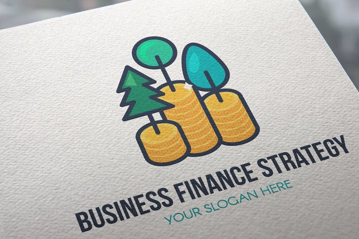 Thumbnail for Business Finance Strategy Logo
