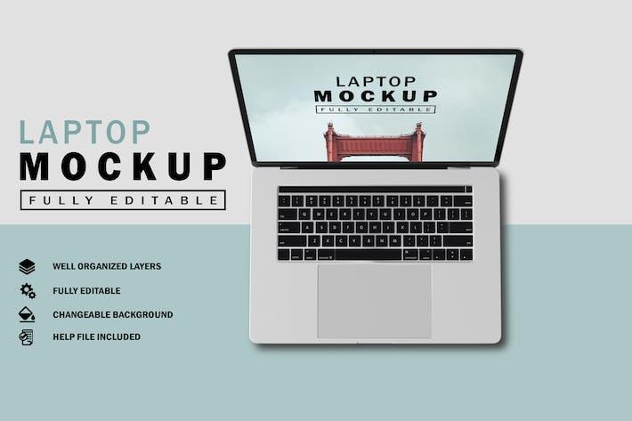 Thumbnail for Laptop Mockup V.2
