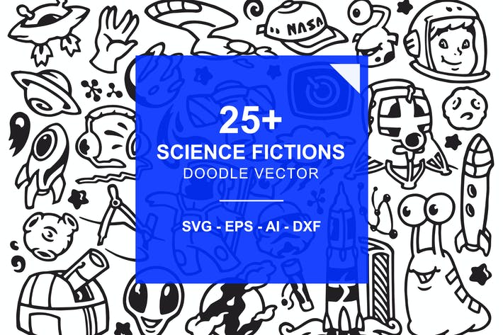 Thumbnail for Science Fiction Doodles