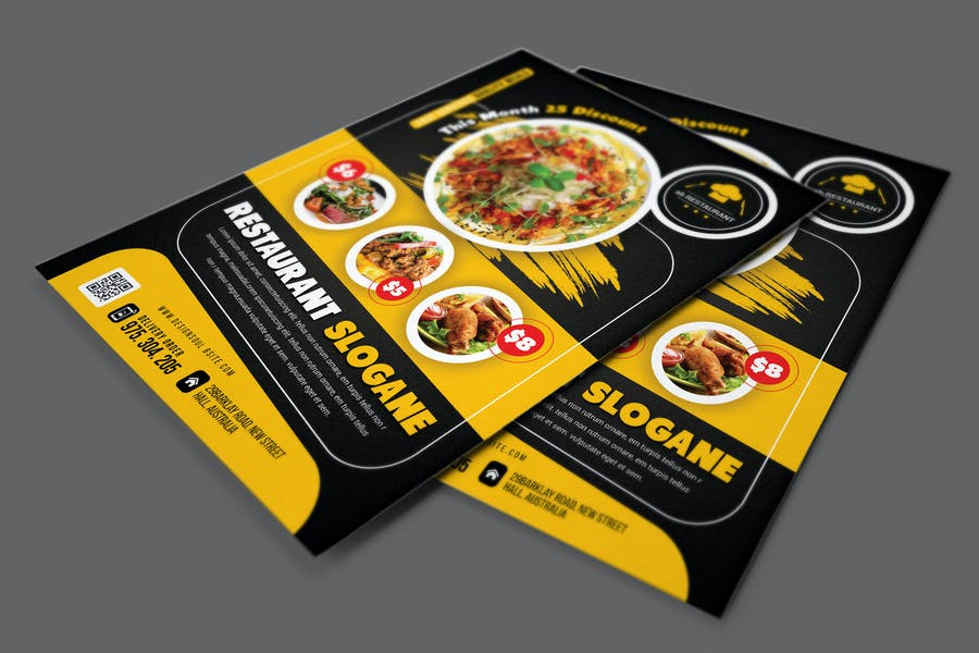Restaurant Flyer - product preview 0