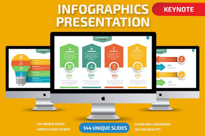 Thumbnail for Infographics Keynote