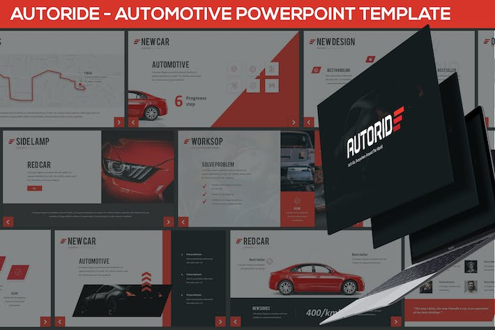 Thumbnail for Autoride - Presentación Powerpoint Automotive
