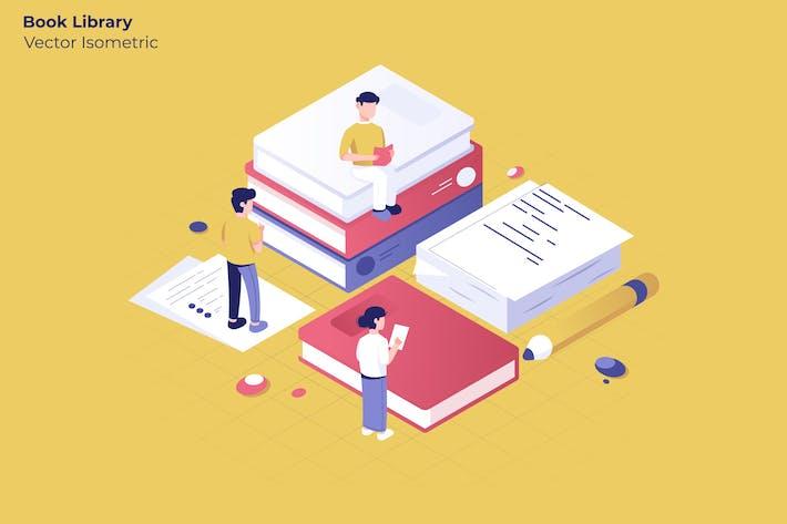 Librería - Ilustración Vector