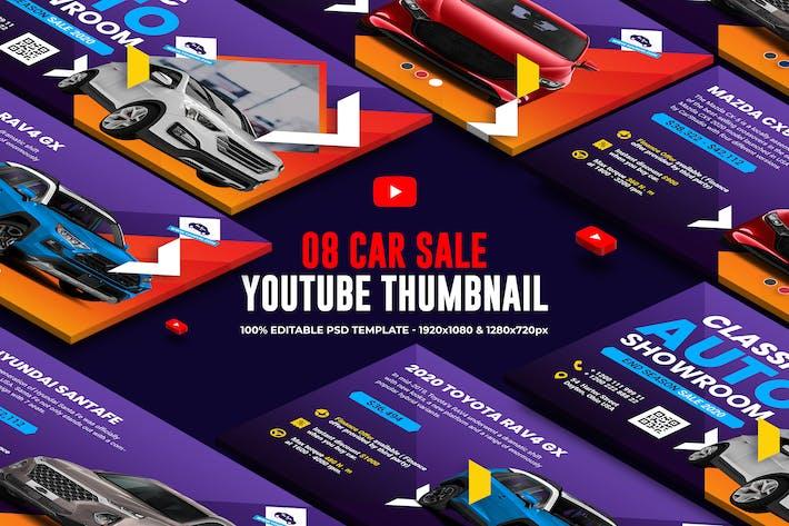 Thumbnail for Car Sale Campaign Youtube Thumbnail