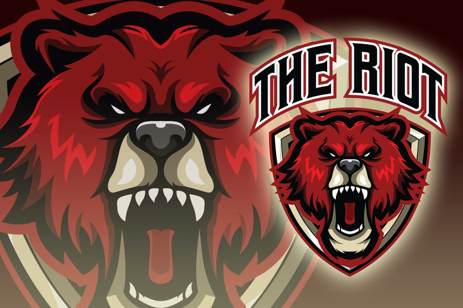 Angry Bear Esport Logo
