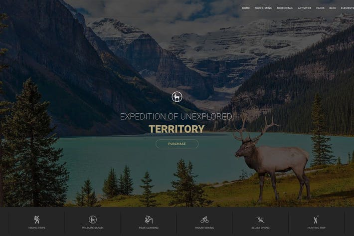 Thumbnail for Entrada - Tour Booking & Adventure WordPress Theme