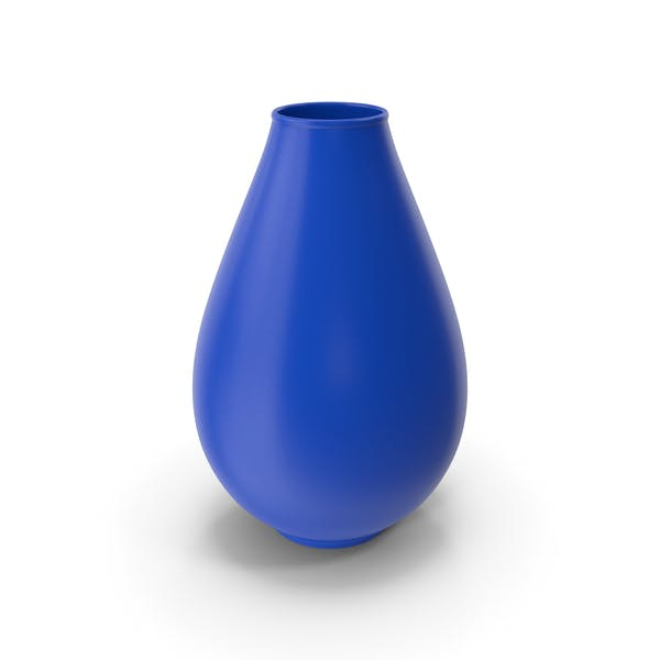 Decorative Vase Blue