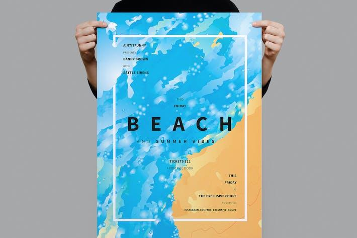 Thumbnail for Strand-Sommer-Flyer/Poster