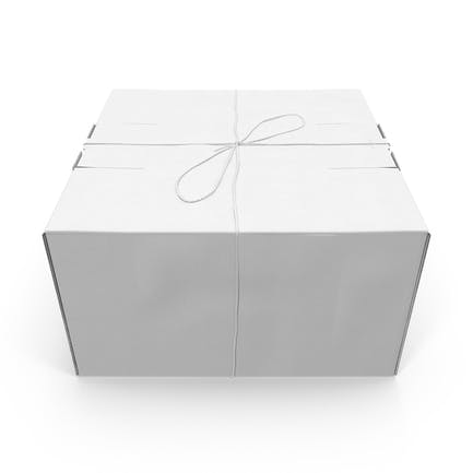 Weißes Paket