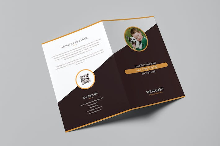 Thumbnail for Brochure – Pets Care Bi-Fold