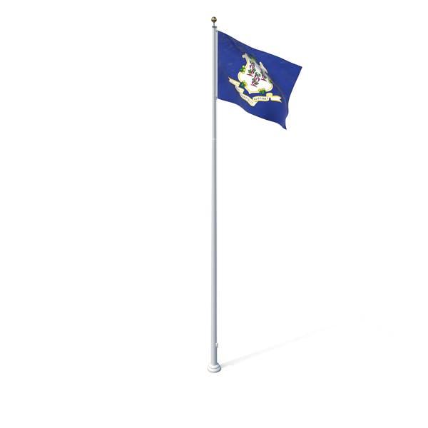 Флаг штата Коннектикут