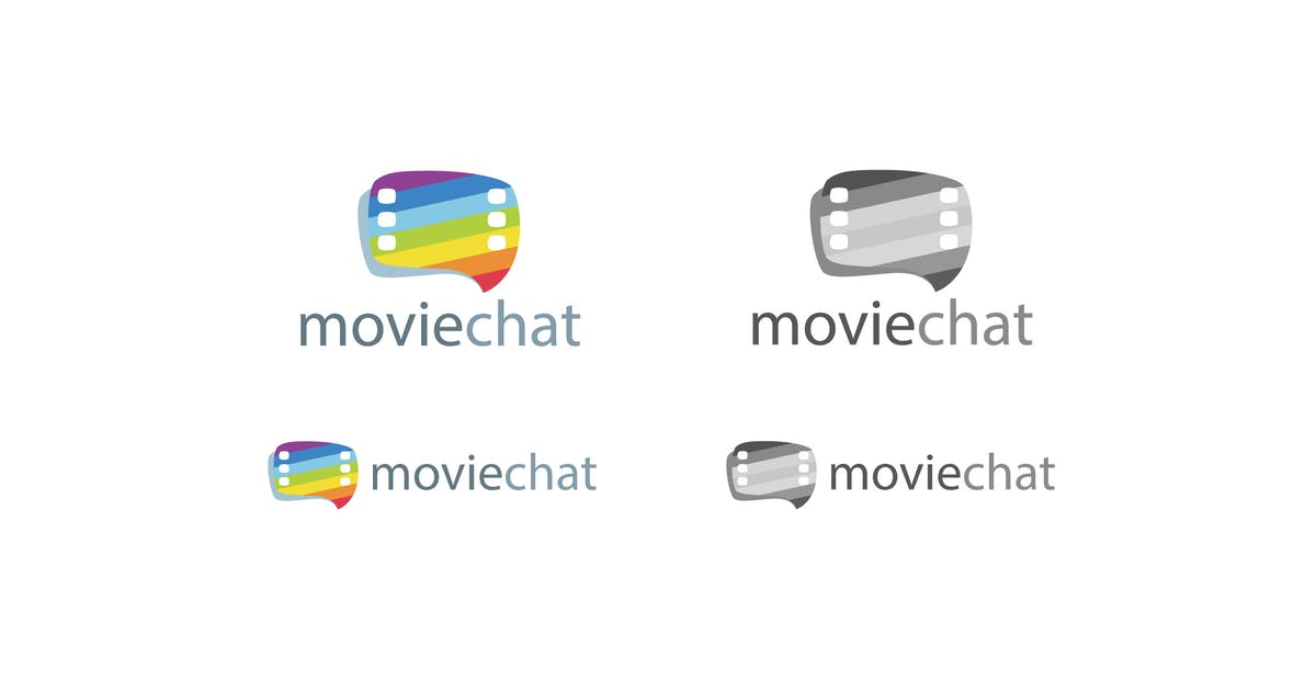 Download Movie Chat Logo Template by 1protheme