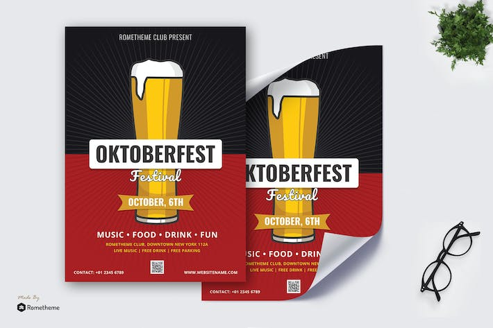 Octoberfest vol.03 - Party Poster RB